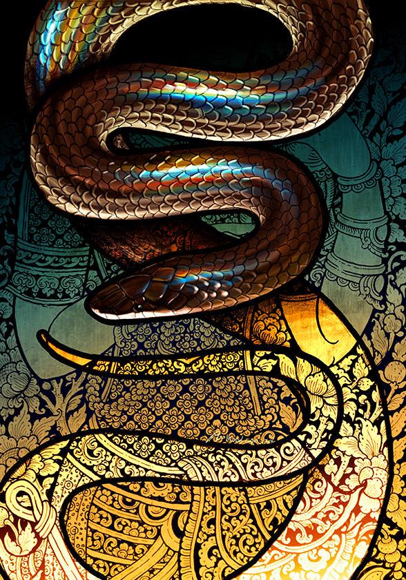 Sunbeam Snake by Culpeo-Fox