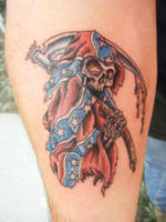 a typical flash tattoo by thelittlered