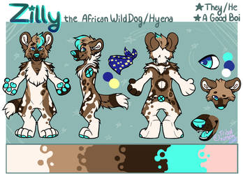 Zilly Ref by tribalkitten97
