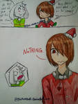 Undertale Christmas DAY 13 by YuiMurasaki