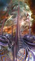 Spires in Space TA Papa-Rafmott by Dr-Pen