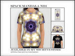 Space Mandala No1 - Society6 by Dr-Pen