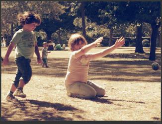 Kids at play by simonruddphotos