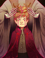 Tommen Baratheon coronation -GOT by SuperOotoro