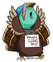 Happy Turkeyday! by Dragontrap