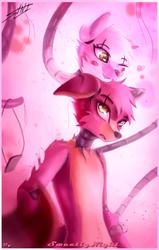 Foxy x Mangle (SPEEDPainting) mi SEMPAI !!! by SweetlyNight