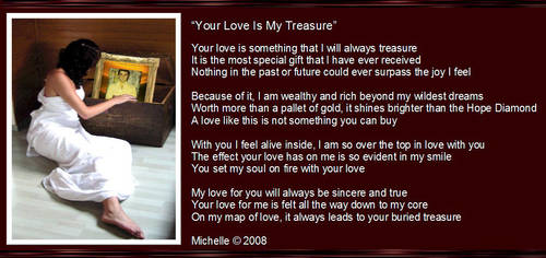 Your Love Is My Treasure by VisualPoetress