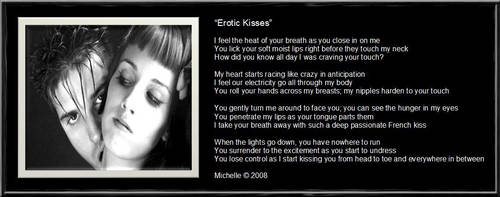 Erotic Kisses by VisualPoetress