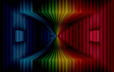 Color Curtain by VisualPoetress