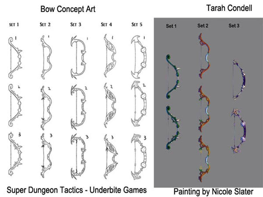 Bow Concept Art By Kira Rinta On Deviantart