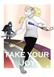 .: TAKE YOUR JOY :. by sparkle-lion