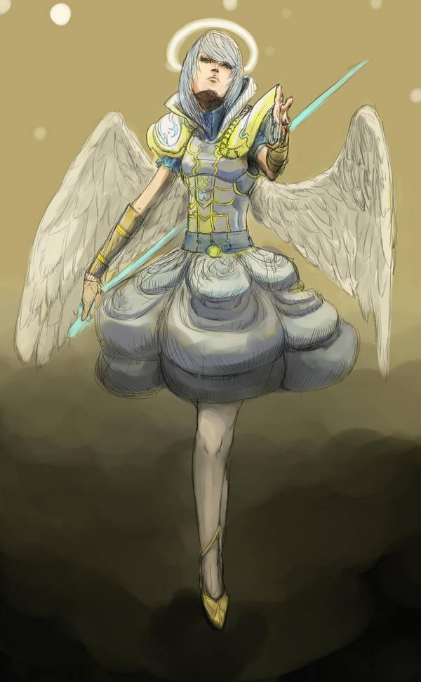 Angel by KindCoffee