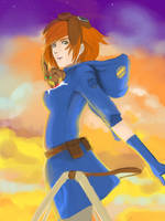 Nausicaa of the Valley Of the Wind by KindCoffee