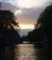 Amsterdam Canal by cat-man-info
