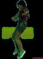 Interdimensional Jenny Everywhere (spooky light) by niauropsaka