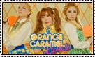 Orange Caramel stamp by AnaInTheStars