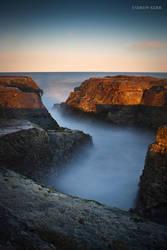 Sunlit Rocks by andyjimmy
