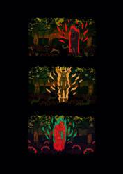 into the woods by AnnaWieszczyk