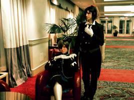 Kuroshitsuji- Earl and Butler by XxNaomi-LukarixX