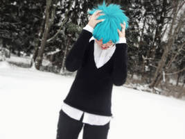 Rolling Boy Mikuo- He Scratches it All Around by XxNaomi-LukarixX