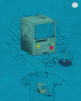 Old Console - THREADLESS by Ellygeh