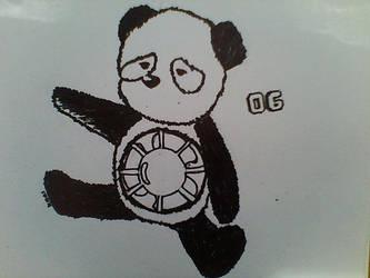 Panda Fan by Zuphlaskhai
