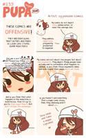 #239: Artist: offensive comics by Pupaveg