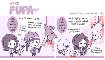 #658: Selective compassion (6) by Pupaveg
