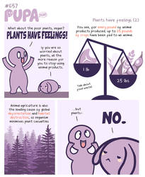 #657: Plants have feelings (2) by Pupaveg