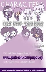 Character sheet 2 - Purple by Pupaveg