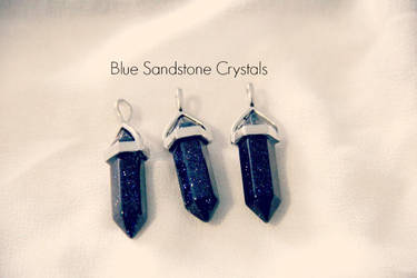 Blue Sandstone Crystals by kiran-freak