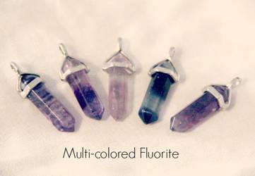 Multicolored Fluorite by kiran-freak