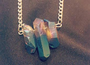 Titanium Crystals by kiran-freak