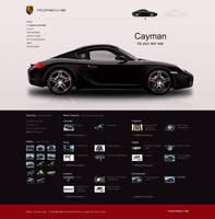 Porsche cayman design by PaulNLD