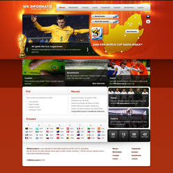 Worldcup Information website by PaulNLD