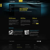 Creative agency Webdesign by PaulNLD