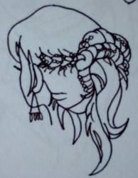 Saint Seiya - Hairstyle 2 by fenrirsilverback