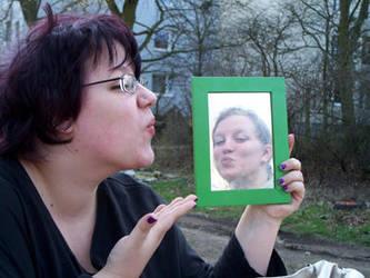 Kissed by LadyInBlack