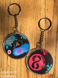 Octo Expansion Memories Keychains by Bonnie-Gumball