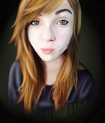self portrait by Xdanix914