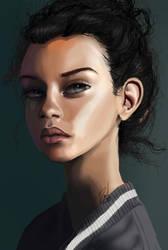 Portrait study by Xdanix914