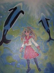 Tomoko Taniguchi Aquarium by cheryblosom