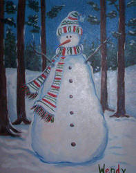 Snowman by cheryblosom