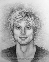 Bradley James by clauvert