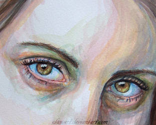 Eyes detail by clauvert
