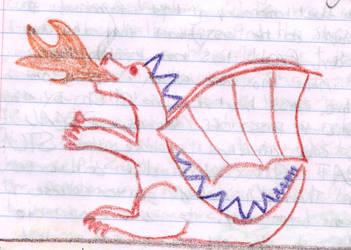 Dragon by CancerTheCrab
