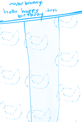 Shower Curtain Cat by derpiihooves