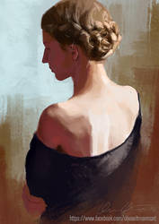 Girl with braid by TheNecco