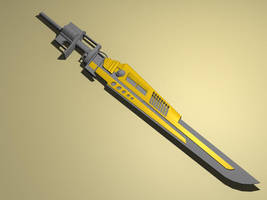 Cyber Sword - WIP by Akira-R
