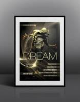 Flyer / Poster Mockup (free) by FlyerMaster